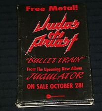 Judas Priest Bullet Train USA  promo Cassette RARE OUT OF PRINT FAST SHIPPING