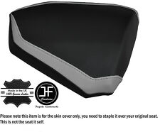 DESIGN 2 GREY & BLACK CUSTOM FITS KTM RC8 R 1190 REAR LEATHER SEAT COVER