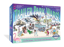 Two Games: Trailer Park Wars! Game & Flea Marketeers Board Game Combo Pack!