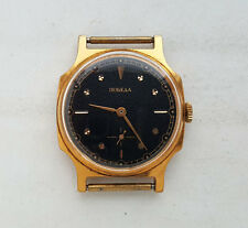 Vintage Russian Watch POBEDA. GOLD Filled Case. 15 ruby jewels. USSR.