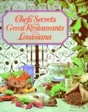 Chefs' Secrets from Great Restaurants in Louisiana COOKBOOK Recipes Prudhomme
