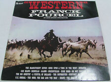 Frank Pourcel et son grand orchastre - WESTERN LP country music Israeli press