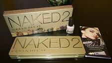 Urban Decay Naked 2 Palette wPrimer &free Deluxe Sample Size Nail Color from SK