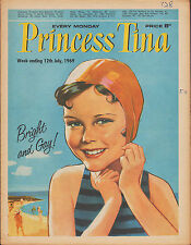 Princess Tina Magazine 12 July 1969     The Beach Boys     Ring of Bright Water