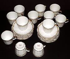 Theodore Haviland Limoges Schleiger 12 Demitasse Cups & 12 Saucers Antique RARE