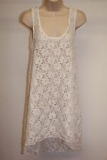 NWT Profile by Gottex Swimsuit Bikini Cover up Tunic Dress Sz M White
