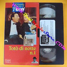 film VHS TOTO' DI NOTTE N.1 il grande cinema FABBRI VIDEO Amendola (F71) no dvd