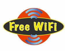 FREE Wi Fi Business COFFEE SHOP Restaurant Window Sticker MADE IN THE USA D324