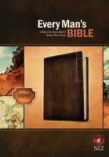 Every Man's Bible NLT: Deluxe Explorer Edition (2014, Imitation Leather)