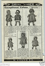 "1926 PAPER AD Moving Eye Mama Doll Dolls 25"" 28"" Baby Like"