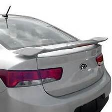 UNPAINTED REAR SPOILER W/LIGHT FOR 2010-2013 KIA FORTE KOUP (CIVIC SI-STYLE)