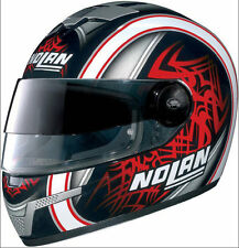 Nolan N-84 Tiger VPS Full Face Helmet Black / Red XS 53-54 cm - Made in Italy