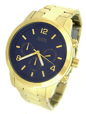 GUESS WATCH for Men * Chronograph * All Gold Tone Stainless Steel * U15061G3