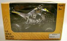 MAX-D ATV YAMAHA YFZ 450 MONSTER JAM 1:12 SCALE DIECAST NEW RAY 2016 RARE