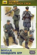 ZVEZDA 3585 1/35 German Hallftrack Crew