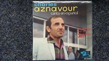 Charles Aznavour - EP 7'' Single SUNG IN SPANISH