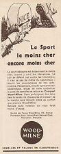 Y8596 WOOD-MILNE talons en caoutchouc - Pubblicità d'epoca - 1933 Old advert