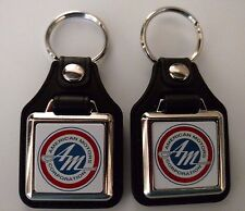 American Motors Corporation Keychain FOB 2 Pack Classic