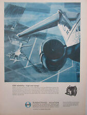 6/1967 PUB SUNDSTRAND AVIATION 60AGD03 DRIVE SECONDARY POWER SYSTEM DC-9 AD