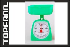 Plastic Kitchen Scale 5 kg! Green