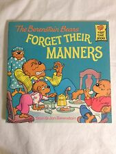 Acc, The Berenstain Bears Forget Their Manners, Stan Berenstain, Jan Berenstain,