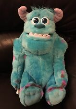 Disney~Monsters Inc~Sulley~Plush Stuffed Talking Toy~My Scare Pal~Blue