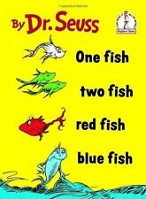 One Fish Two Fish Red Fish Blue Fish by Dr. Seuss (Hardcover) Free Shipping  New