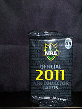 NRL OFFICIAL 2011 COLLECTOR TRADING CARDS - PACK 5 - NEW AND SEALED
