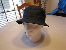 Brixton reversible S Tull brown navy fishing RARE Mens adult sun bucket hat cap