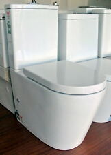 New Vortex Flushing Mode 4 STAR VITREOUS CHINA SOFT CLOSE TOILET SUITE P/S Trap