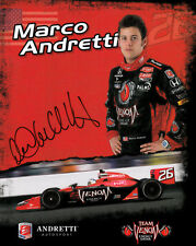 Marco Andretti (USA) IndyCar Serie,Formel E original signiert/signed !!!