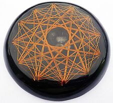Black Sun Orgone HyperVortex Resonator powered with Black Tourmaline quartz