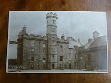 R066 EDINBURGH CASTLE West Front of Palace Postcard H.M. Office of Works