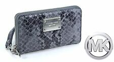 MIchael Kors Leather iphone Multifunction Phone Case $118 New w/Tags 32F3MELZ7E