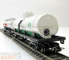 2er Set 40ft Tank Car Quaker State Exxon Premium Silver Series