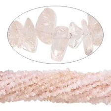 "Rose Quartz Chip Beads  34"" - 36"" Endless Strand (1)"
