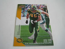 2014 UPPER DECK CFL FOOTBALL NATE COEHOORN CARD #29***EDMONTON ESKIMOS***