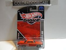 Hot Wheels Garage Red '57 Chrysler 300 w/Real Riders