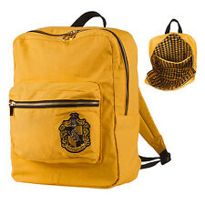 Universal Studios Harry Potter Crest Hufflepuff Backpack New With Tags