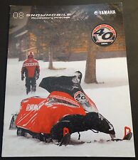 2008 YAMAHA SNOWMOBILE ACCESSORIES & APPAREL PREVIEW SALES BROCHURE (168)