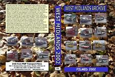 2998. West Midlands Video Archive. Volume 14 2002  Filmed in West Bromwich and D