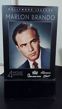 HOLLYWOOD LEGENDS MARLON BRANDO 4 MOVIE COLLECTION DVD Wild One Freshman