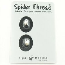 SPIDER THREAD 2 PIECE PACK BY YIGAL MESIKA MAGIC TRICKS LEVITATING FLOATING REEL