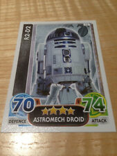 STAR WARS Force Awakens - Force Attax Trading Card #017 R2-D2