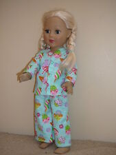 "Sweets for the Sweet Pajamas 18"" Doll Clothes American Girl"
