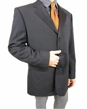 TOMMY HILFIGER Mens Vtg Wool Formal Tailored Tweed Suit Jacket Blazer sz 42 AS22