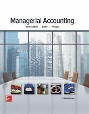Managerial Accounting, Phillips, Fred, Libby, Robert, Whitecotton, Stacey Book