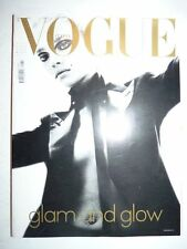 Magazine mode fashion VOGUE ITALIA #628 dicembre 2002 glam and glow