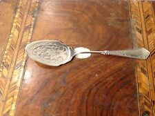 ANTIQUE ART DECO SILVER JAM JELLY QUINCE  SPOON. Eureka Silver