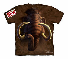 The Mountain Mammoth Head Wooly Prehistoric Mammal Tusk Youth / Child T Shirt L